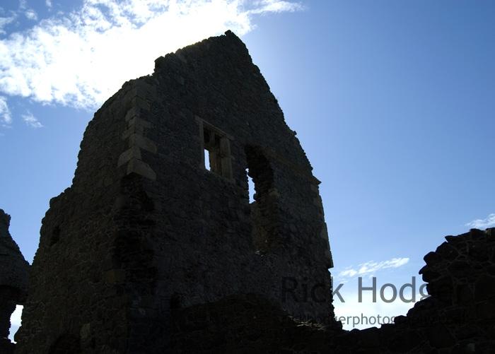 Dunluce Castle, Inner Courtyard